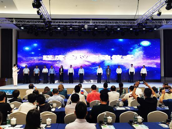 长三角生态绿色一体化发展示范区第一次工商联席会议现场。  sunbet省嘉善县工商联供图