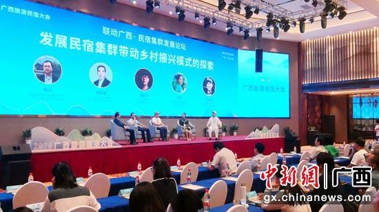 2020广西旅游民宿大会在大新县召开 促进产业融合发展