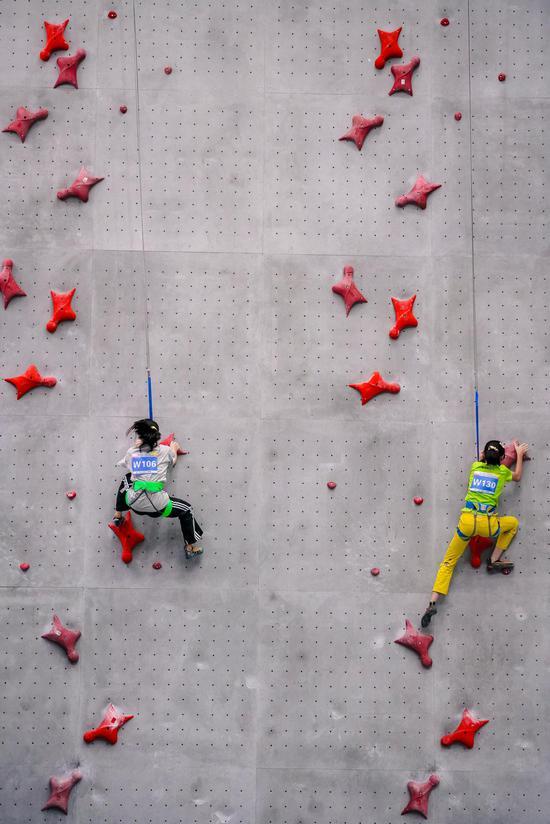 廣西首屆青少年攀巖錦標賽圓滿落