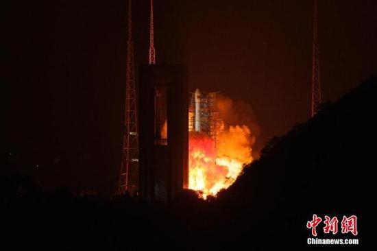 高分卫星再升空 西昌卫星发射中心新一轮高密度任务首战告捷