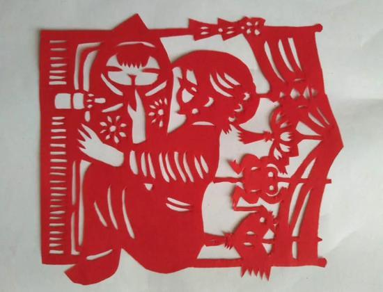 剪纸艺术。 婺城宣传部供图
