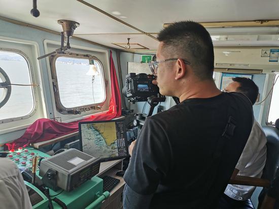 海上智控系统运行现场。宁波航标处供图