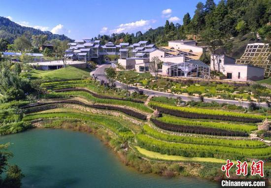 第四届中国绿博会开幕 56个展园讲述海内外绿色发展故事