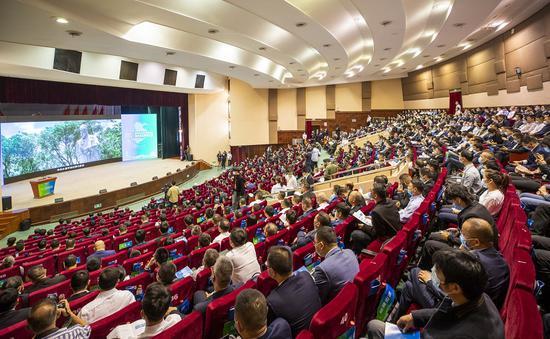 2020世界青年科学家峰会瑞安云江科创大会主会场。  孙凛 摄