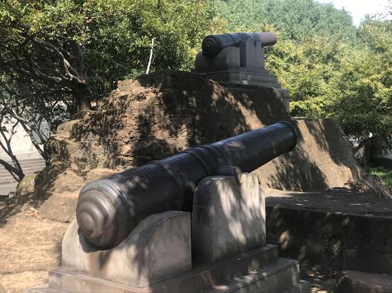 安远炮台一景。  李典 摄