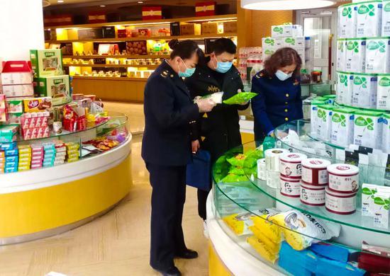 ?喀什市保供应稳物价 加强疫情防控维护市场秩序