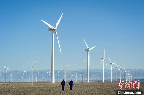 新疆风电装机超2000万千瓦 居西北第一(图)