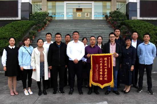 李震杰一行赴台州看望一师阿拉尔市中青年及年轻干部培训班学员