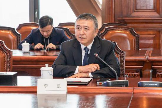 中天金融集团执行副总裁李凯
