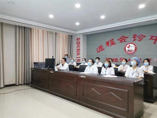 台州援疆医生开展医共体医生远程专业培训
