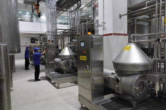 王老吉大健康梅州原液提取基地生产车间