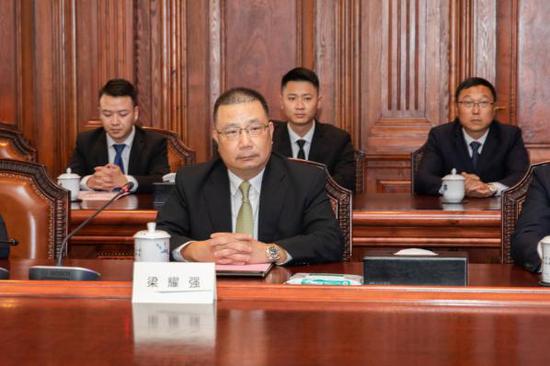 日立电梯(中国)有限公司副总裁梁耀强
