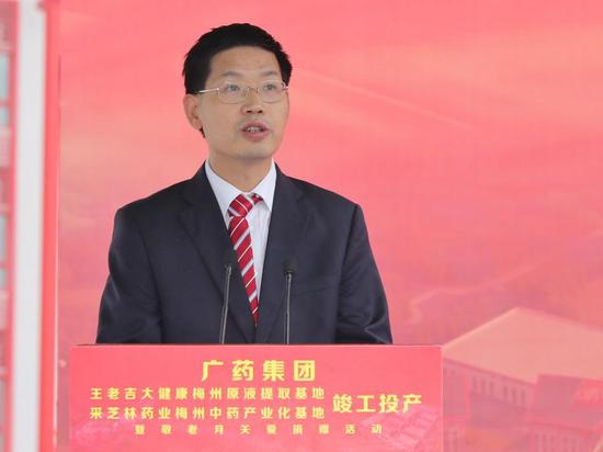 梅州市委常委、副市长霍阳发言