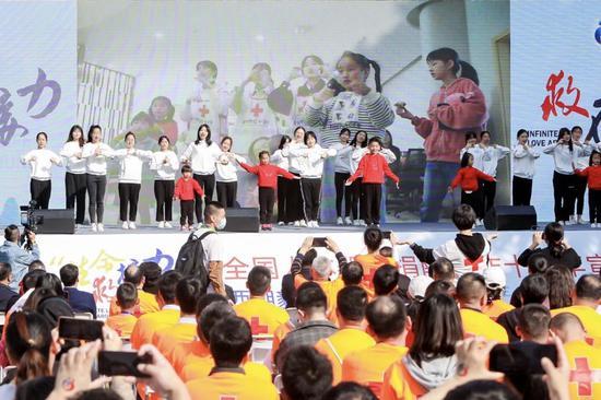 活动现场。浙江省红十字会供图