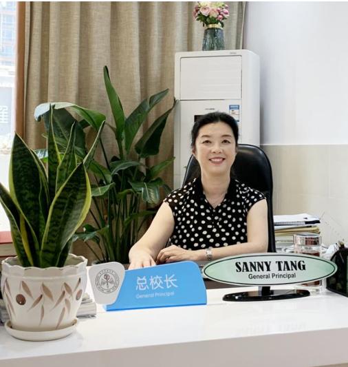 贵阳中天北京小学总校长唐洁。