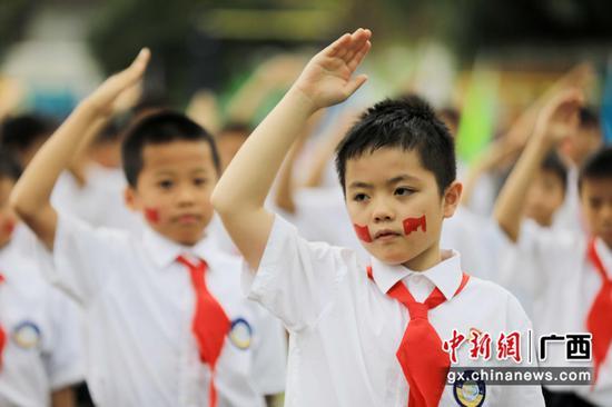 广西融安传统文化进校园
