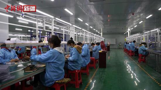 喀什地区:积极服务企业 保障有序生产