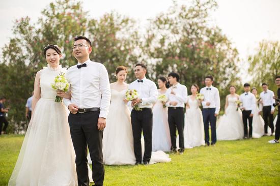 鹿城推进移风易俗,倡议婚事新办。 鹿城宣传部供图
