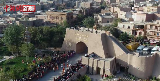 《喀什古丽》电影首曝预告片 感受魅力喀什