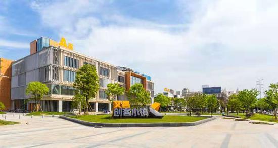 温州文昌创客小镇。  龙湾供图