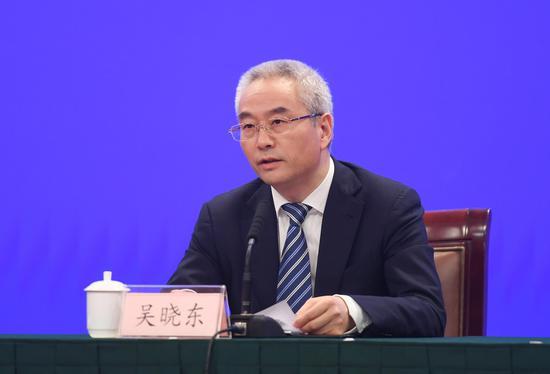 丽水市委副书记、市长吴晓东。 王刚 摄