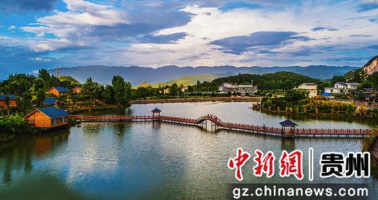 云上居乡村。戴贵蓉 摄 印江县委宣传部供图