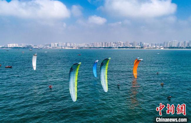 全国风筝板锦标赛山东收获颇丰 福建陈静乐一骑绝尘