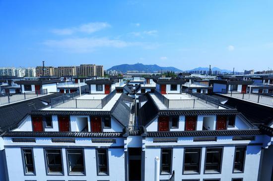 石桥南苑蓝领公寓。下城住建 供图