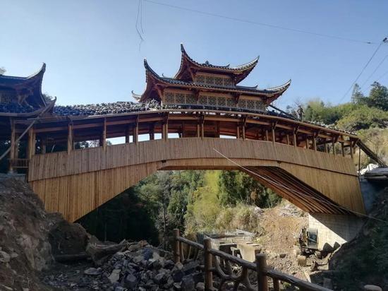 温州泰顺廊桥 泰顺县委宣传部供图