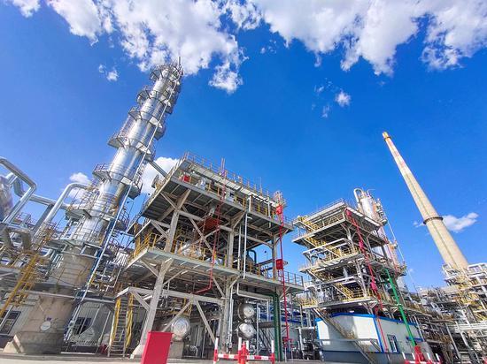 2019年新投用的5万吨/年硫磺回收装置。郑义 摄