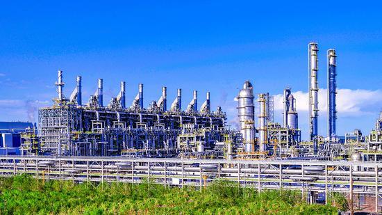 独山子石化百万吨乙烯装置。常国敬摄