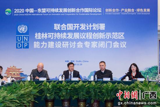 2020中国-东盟可持续发展创新合作国际论坛闭幕
