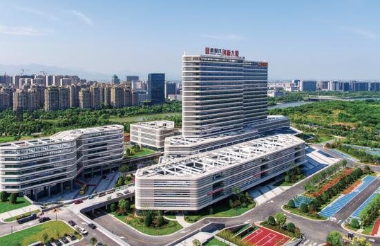 衢州衢时代创新大厦。 衢州市委宣传部供图