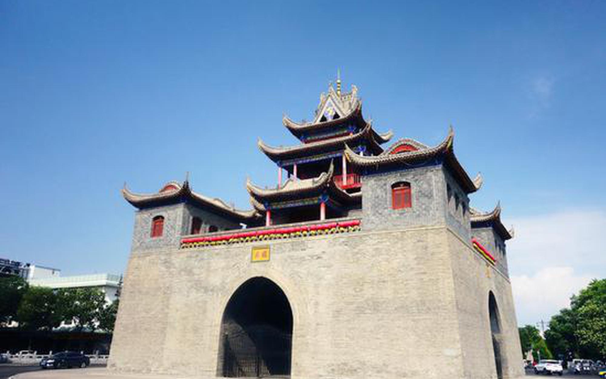 银川鼓楼-玉皇阁被划定为历史文化街区