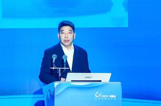 杭州市副市长、钱塘新区党工委书记柯吉欣。 杭州钱塘新区供图
