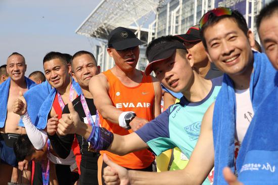 2020年溫州馬拉松鳴槍開跑 近5000人參賽