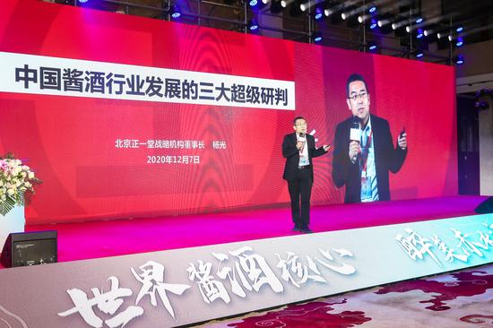 北京正一堂战略咨询机构董事长杨光