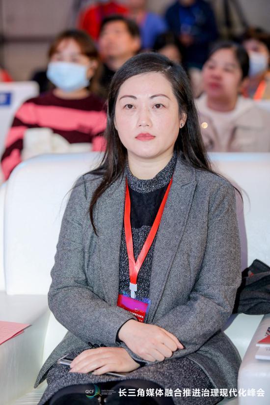 聚星官网大学公共管理学院党委副书记姚晨。谈玉坤 摄