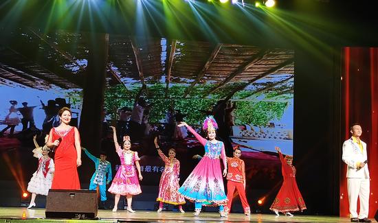 绍兴援阿瓦提十周年文艺晚会在绍兴市百姓剧场举行