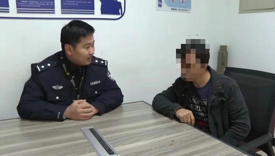 民警对张师傅进行了批评教育。浦阳派出所提供