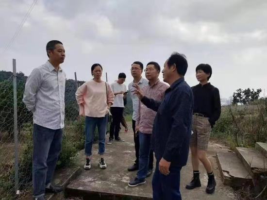 巡察工作 椒江供圖