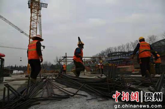 贵阳观山湖干井棚户区改造项目建设如火如荼