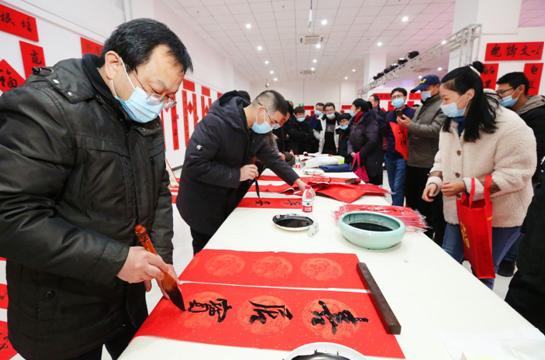 新疆第三届春联书法作品展启动仪式在库车市举行
