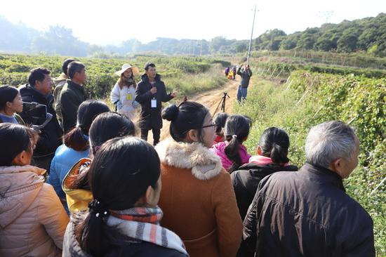 广西北流分批培训600名百香果种植高素质农民
