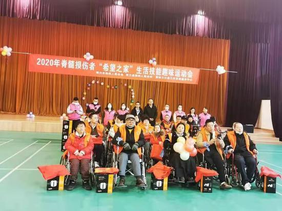 宁夏银川:脊髓损伤者共享运动之乐