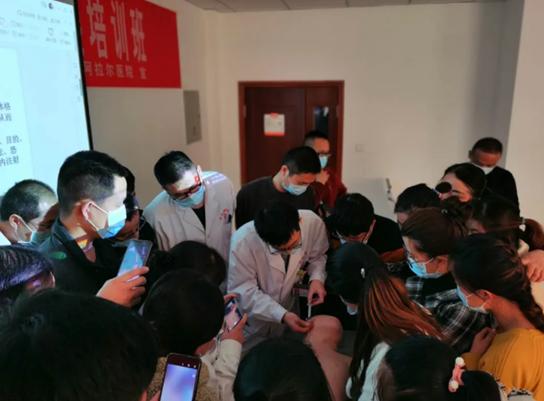 台州援疆指挥部助力阿拉尔医共体急救一体化建设