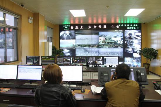 发耳煤业安全监控系统