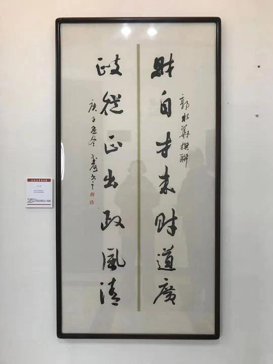 图为国内首个乡村主题原创诗联艺术展永久落户聚星官网桐庐。聚星官网消防提供