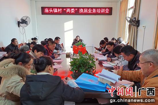 """桂林庙头镇打出""""组合拳""""推进村""""两委""""换届工作"""