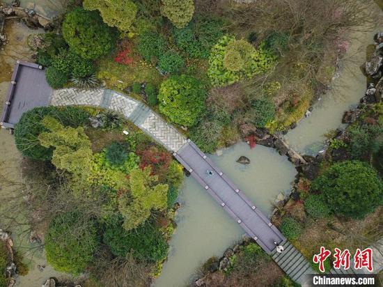 贵阳市泉湖公园。 瞿宏伦 摄